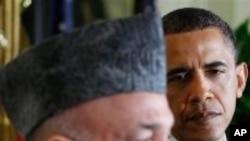 اوباما او کرزي د مظبوط افغانستان لپاره ژمنې یوځل بیا تکرار کړي