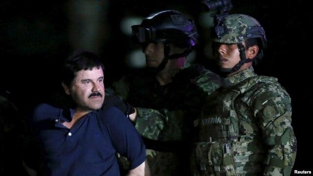 ម៉ិកស៊ិកបញ្ជូនមេឈ្មួញគ្រឿងញៀន «El Chapo» ត្រលប់ទៅពន្ធនាគារវិញ