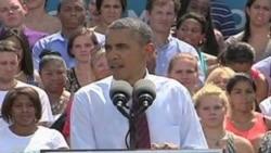 Ultima parada de Obama antes de Charlotte
