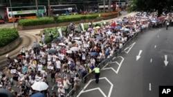 香港举行2011年七一大游行