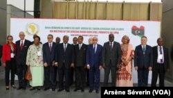 Les participants à la réunion de Brazzaville sur la Libye ont appelé à un dialogue politique 30 janvier 2020 (VOA/Arsène Séverin).