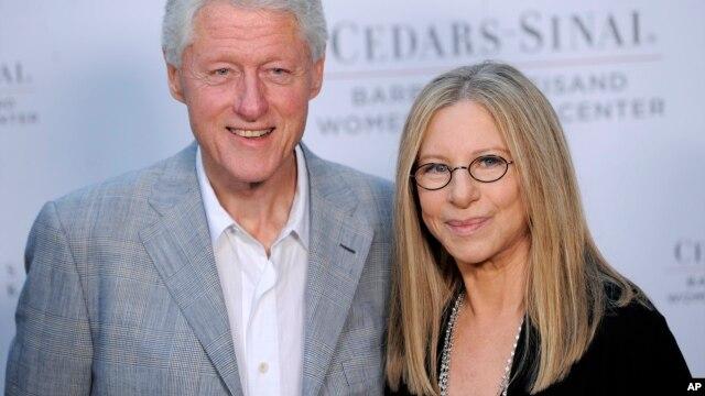Clinton se ha pronunciado en varias ocasiones como un fanático Streisand.