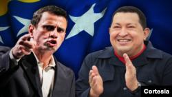Las encuestas venezolanas varían enormemente en sus predicciones sobre la carrera electoral. Algunas dan una ventaja de 15 a 20 puntos al presidente, mientras que en otras revelan la carrera está prácticamente empatadas. [Fotos: AP y Reuters]