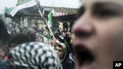 شام: حکومت مخالف شورش، کم از کم 10افراد ہلاک