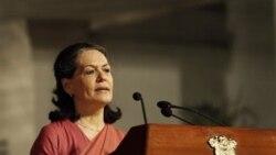 سونیا گاندی، رهبر حزب کنگره هند