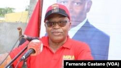 Domingos Afonso Mário Huambo, segundo secretário do MPLA no Kwanza Sul