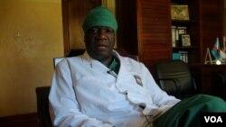 Le docteur Denis Mukwege dans son hôpital de Panzi, à Bukavu (VOA/Nicolas Pinault)