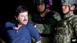 """Joaquín """"El Chapo"""" Guzmán, de 62 años, fue hallado culpable de 12 de febrero de los 10 cargos que se presentaron en su contra."""