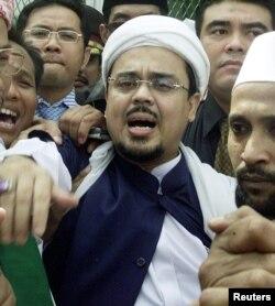 Pemimpin Front Pembela Islam (FPI), Muhammad Rizieq Shihab (foto: dok).