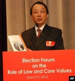 前香港大律師公會主席陳景生