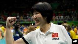 中国女排教练郎平