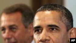 奧巴馬總統星期天會晤國會眾議長貝納