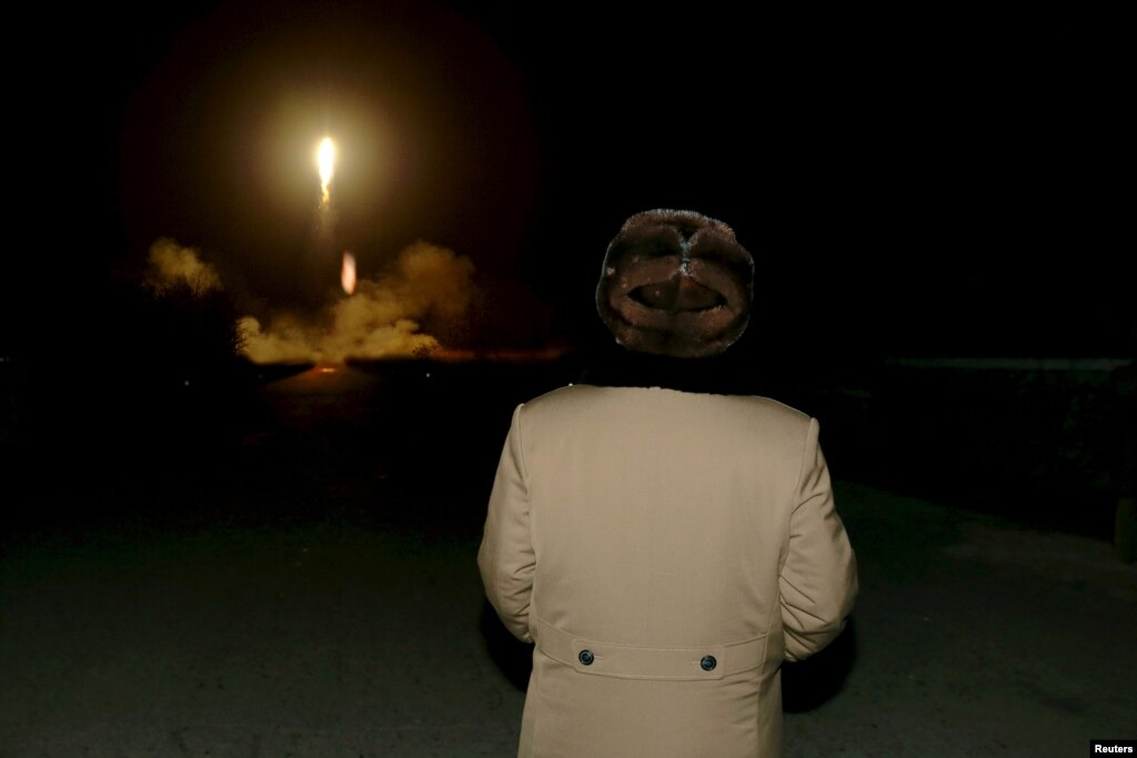 North Korea fires three ballistic missiles