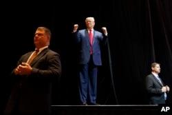 共和党总统候选人唐纳德·川普到拉斯维加斯发表竞选演说(2016年10月30日)
