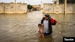 په خوزستان ولایت کې سیلاب