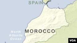 Para tersangka anggota militan ditangkap di ibukota Casablanca.