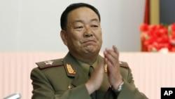 Ministan Tsaro Korea Ta Kudu, Hyon Yon Chol.