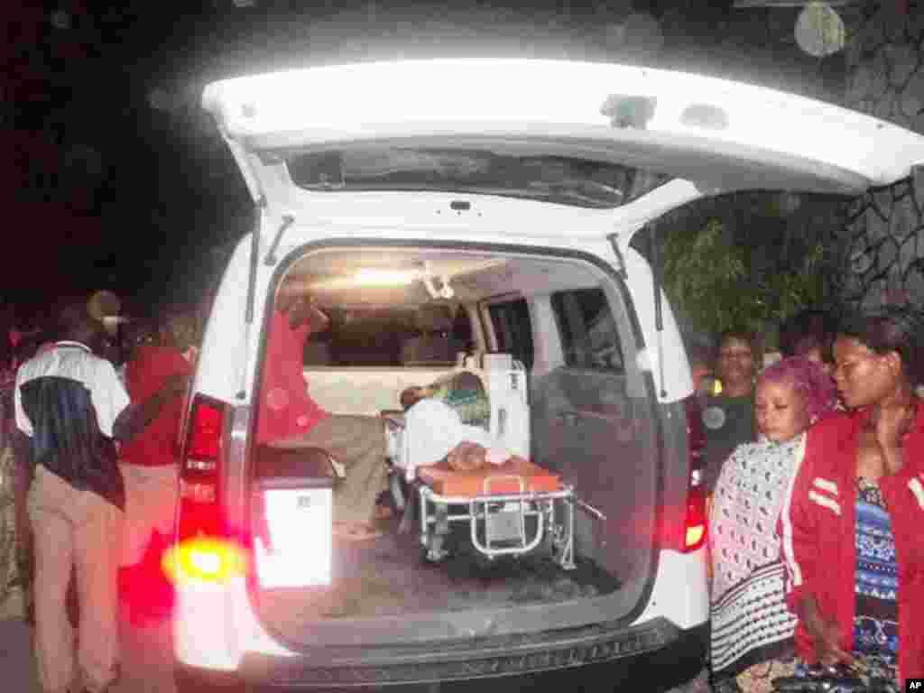 Mtu aliyejeruhiwa kufuatia milipuko afikishwa hospitali ya Muhimbili