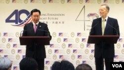 美台建立新对话机制 推台湾为区域民主典范