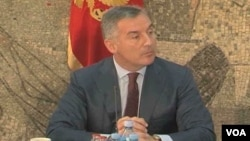Premijer Crne Gore, Milo Đukanović na konferenciji za novinare u Podgorici, 16. jul 2013.