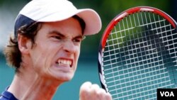 Petenis Inggris, Andy Murray tidak mengikuti upacara pembukaan Olimpiade hari Jumat malam (foto: dok).