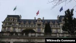 Istana Beau-Rivage di Lausanne, Swiss, tempat pelaksanaan perundingan nuklir Iran dan negara-negara 5+1 (Foto: Niloufar Pourebrahim).