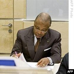 Bivši predsednik Liberije (arhivski snimak)
