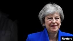 Waziri mkuu wa Uingereza Theresa May.