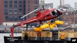 New York'ta 12 Mart 2018'de ölümlü helikopter kazası yaşanmıştı