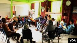 Sigab Indonesia Gives Training for Disabled People