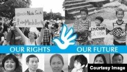Các nhà tranh đấu Việt Nam bị giam cầm.