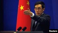 Jurubicara Kementrian Luar Negeri Tiongkok, Liu Weimin (Foto: dok).
