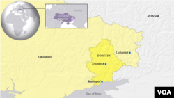 Donetsk and Luhansk, Ukraine