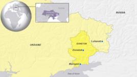 Donetsk and Luhansk, Ukraine