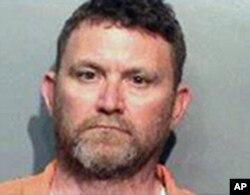 Le suspect Scott Michael Greene a été arrête par la police de Des Moines, soupçonné d'avoir tué deux policiers, le 2 novembre 2016.