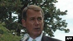 众议院少数党领袖约翰·博纳