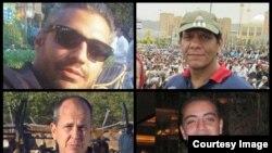 Bốn phóng viên đài truyền hình Al-Jazeera bị nhà chức trách Ai Cập bắt: Peter Greste, Mohamed Fahmy, Baher Mohamed và Mohamed Fawzy.