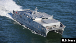 """Транспортно-десантный корабль ВМС США """"Yuma"""". Архивное фото"""