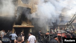 انفجار اتومبیل حاوی بمب در منطقه جرمانا در نزدیکی دمشق