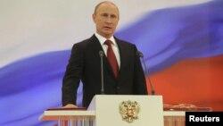 La ceremonia de investidura tuvo lugar en el Kremlin.