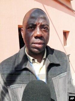 João Domingos Ana, chefe do Departamento de Combate à Droga no Namibe