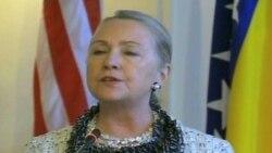 Україна зробила крок назад - Клінтон