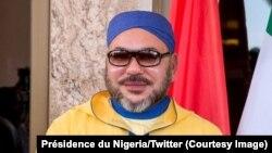 Le roi Mohamed VI du Maroc, 2 décembre 2016. Crédit : Présidence du Nigeria