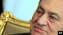 埃及前總統穆巴拉克(資料圖片)