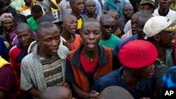 現任剛果民主共和國總統卡比拉的支持者星期六在盧邦巴色地區舉行集會