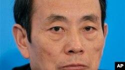 前中石油董事长、国务院国资委主任蒋洁敏。(资料照片)