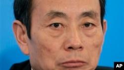 前中石油董事長、國務院國資委主任蔣潔敏。(資料照片)