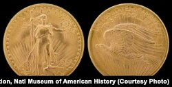 The Saint-Gaudens double eagle, first minted in 1907, is a $20 gold coin, or double eagle, considered by many to be the most beautiful of U.S. coins.
