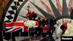 前英國首相撒切爾夫人的葬禮於倫敦聖保羅大教堂舉行