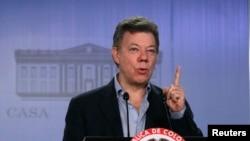 """El presidente Juan Manuel Santos dijo que se trata de un """"malentendido"""" que debe ser tratado por la vía diplomática."""